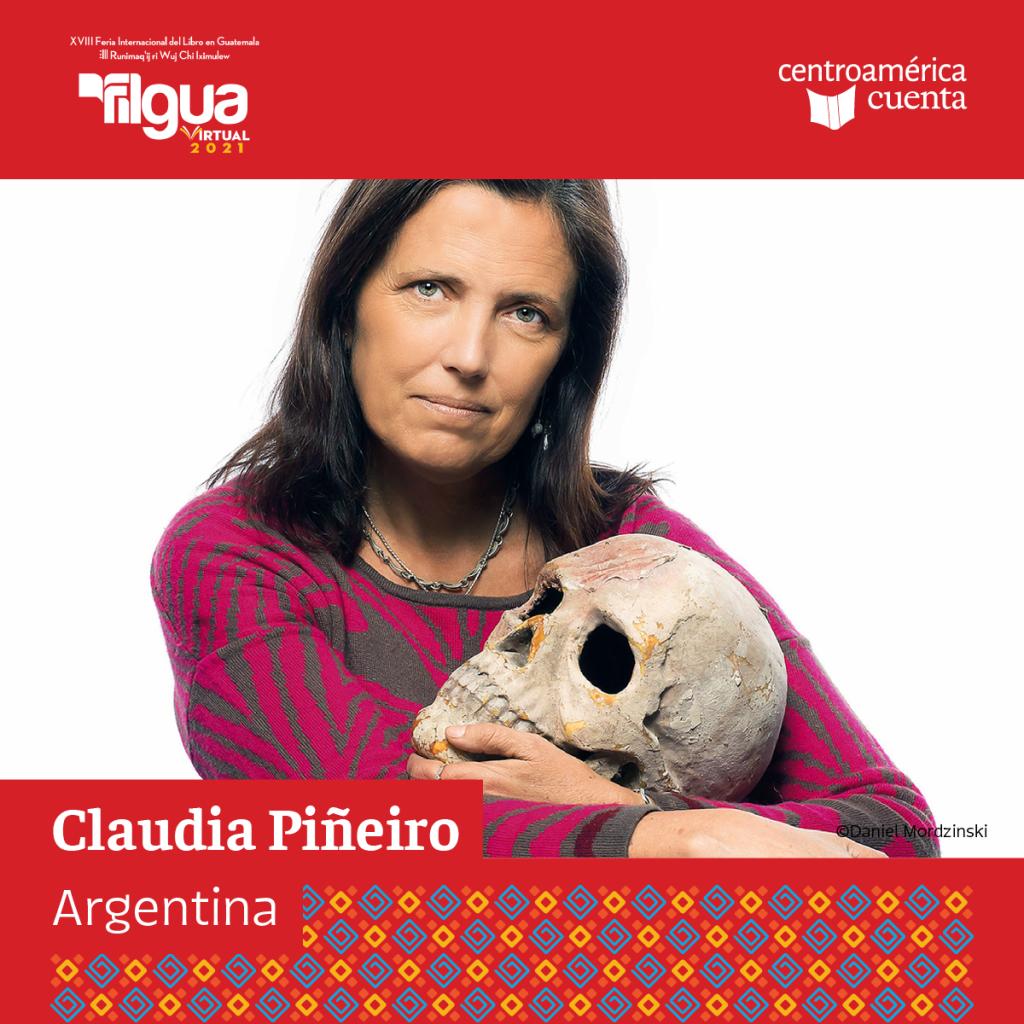 Claudia Piñeiro Centroamérica Cuenta 2021